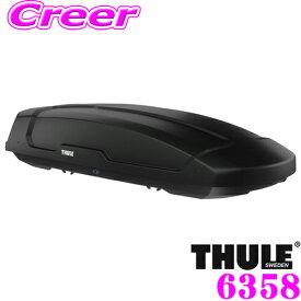 【11/19〜11/26 エントリー+楽天カードP12倍以上】THULE Force XT XL ブラック TH6358 フォースXT XL ルーフボックス (ジェットバッグ) 【デュアルオープン/パワークリック搭載 ブラック】 TH6298-1後継品
