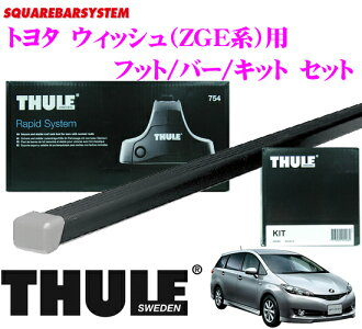 供THULE suritoyotauisshu(ZGE派)使用的屋顶履历装设3分安排
