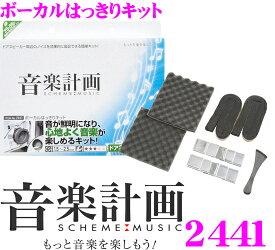 エーモン工業 音楽計画 2441ボーカルはっきりキット【音が鮮明になり、心地よく音楽が楽しめるキット!】