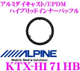 【11/19〜11/26 エントリー+楽天カードP12倍以上】アルパイン KTX-H171HB 高剛性アルミダイキャスト/EPDM ハイブリッド高音質インナーバッフルボード 【ホンダ車用】