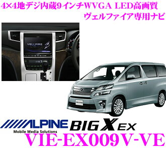 Alpine Electronics VIE-EX009V-VE導航器