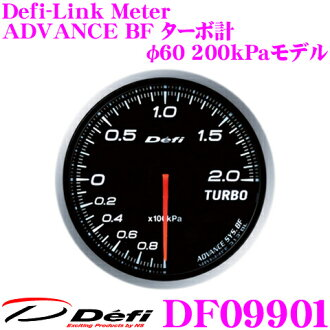 Defi デフィ NIPPON SEIKI DF09901 Defi-Link Meter (デフィリンクメーター) advance BF turbo 200kPa model in total
