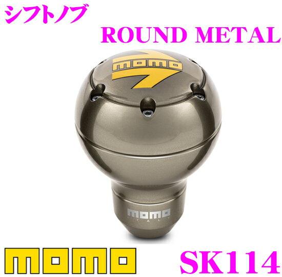 MOMO モモ シフトノブ SK-114 ROUND METAL(ラウンドメタル)