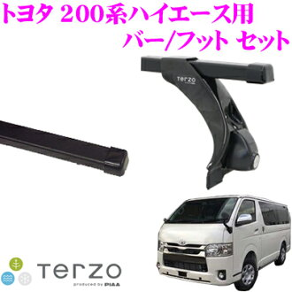供TERZO teruttsuotoyota 200派高能手(卡车标准屋顶车)使用的屋顶履历装设2分安排