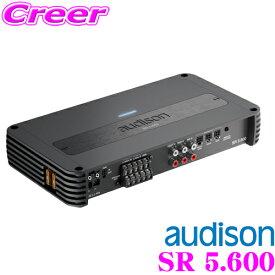 【6/15はP2倍】AUDISON オーディソン AUD SR 5.600 車載用 5チャンネル(75W x 4ch + 330W x 1ch) アンプ
