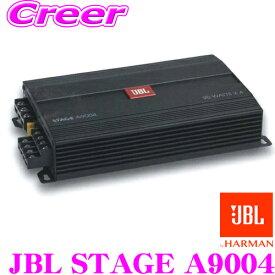 JBL ジェイビーエル JBL STAGE A9004@4Ω車載用 省スペースカーアンプ90W 4ch スペアタイヤ設置型サブウーファ