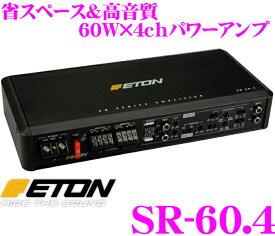 ETON イートン SR-60.4 60W×4chステレオパワーアンプ