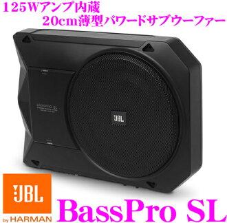 JBL J提单BASSPROSL 125W功率放大器内置20cm薄型pawadosabuufa(放大器内置乌她)
