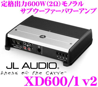 JL AUDIO J L音頻XD600/1v2 NexD Ultra-High Speed Class D 600W(@2Ω)副低音揚聲器功率放大器