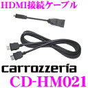 カロッツェリア CD-HM021 HDMI接続ケーブルセット 【サイバーナビとiPhoneを接続して動画再生】