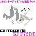 ジャストフィット KJ-F72DE スバル GT系/GK系 インプレッサ用 オーディオ/ナビ取付キット
