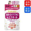 【複数購入 割引クーポン配布中】Rakune(らくね) 発酵大豆イソフラボン&エクオール アサヒ 28粒