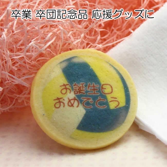 バレーボール デザイン 名入れ クッキー お菓子