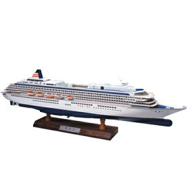 【日本製】1/350 飛鳥II 木製帆船模型【ウッディジョーの木製模型】飛鳥2 飛鳥2 WoodyJOE【代引不可】