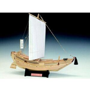 【日本製】帆船1/72 北前船【ウッディジョーの木製模型】WoodyJOE【代引不可】きたまえぶね趣味 初心者 ギフト プレゼント 天然木 レーザーカット加工 組立キット ウッディージョー