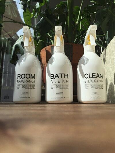 Bottle.S-WH(ホワイト)ボトル・MIST(霧スプレー)[本体:白/スプレー:白][容量:500mlPET製/光沢仕上げ][クレス・オリジナルボトル]