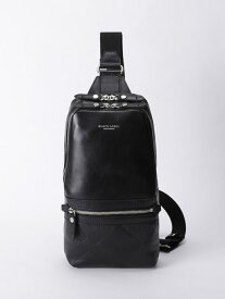 [Rakuten Fashion]エンボスクレストブリッジソフトレザーボディバッグ BLACK LABEL CRESTBRIDGE ブルーレーベル / ブラックレーベル・クレストブリッジ バッグ バッグその他 ブラック ネイビー【送料無料】