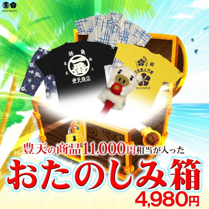【おたのしみ箱】メンズ・レディース商品 豊天商店 つかみ取り Tシャツ パンツ 雑貨等約5商品が4980円!