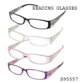 【定形外郵便送料無料】Reading Glasses リーディンググラス S95557 【DULTON/ダルトン】おしゃれ/清楚/花柄/老眼鏡/シニアグラス/メガネ/眼鏡/めがね/読書
