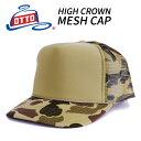 OTTO オットー 【迷彩 カモフラ】メッシュキャップ フリーサイズ MESH CAP MESHCAP ミリタリー CAMO カモフラージュ …