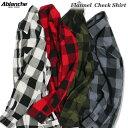 ABLANCHE フランネル チェックシャツ ネルシャツ 長袖 ブロックチェック 大きいサイズ メンズ チェック柄 フラネルシャツ L〜3XL L LL 2L ...
