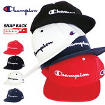 Championチャンピオンスナップバックキャップ【スウェット生地】ベースボールキャップチャンピョンストレートキャップSTRAIGHTCAPSNAPBACKメンズレディースユニセックス帽子581-003A