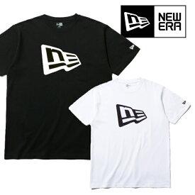 NEW ERA ニューエラ 半袖Tシャツ 【 FLAG LOGO 】 フラッグロゴ コットン TEE メンズ 2019モデル NEWERA 正規品