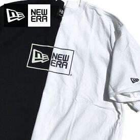 NEW ERA ニューエラ Tシャツ 【ボックスロゴ】 ニューエラロゴT NEWERA BOXLOGO T-SHIRTS LOGO ニューエラアパレル USサイズ メンズ L LL 3L XL 2XL