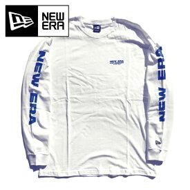 【2XLのみ】NEW ERA ニューエラ ロンT 【NEWERA CAP COMPANY 1920】 長袖Tシャツ メンズ 大きいサイズ 袖プリント ロングスリーブ アパレル コットンTEE NEWERA Long Sleeve Tshirts 12108234