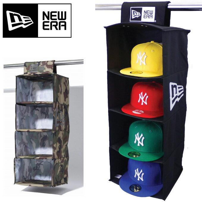 【メール便可】ニューエラ 【キャップストレージ】 NEW ERA CAP STORAGE 【帽子収納】 黒 迷彩 友達へ ランキング上位 アクセサリー キャップラック 帽子ケース 収納ラック ニューエラ キャップストレージ キャップストレイジ ケアアイテム