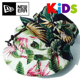 NEW ERA ニューエラ キッズ アドベンチャー 【ボタニカル】 KIDS ハット M/L 54cm アウトドア 子供用 帽子 ネイビー ホワイト NEW ERA Youth 11901035 11901036