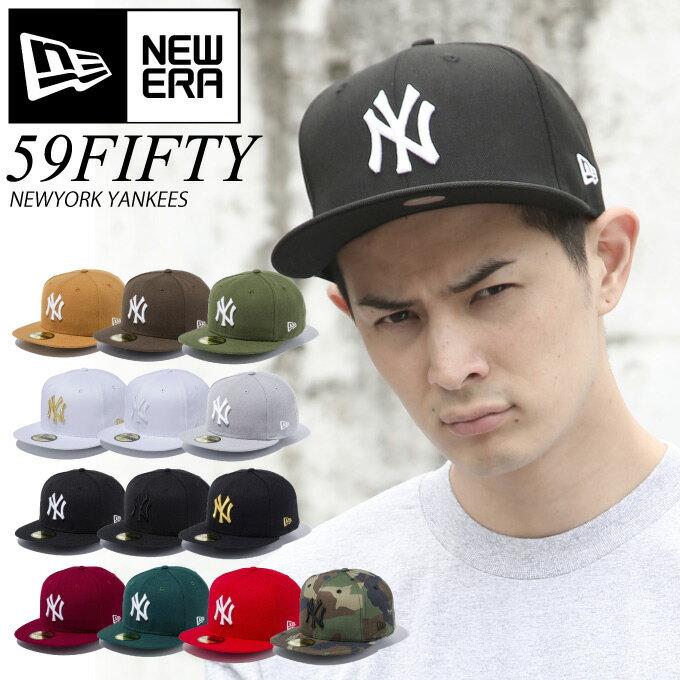 【取り寄せOK】【送料無料】ニューエラ キャップ NEW ERA CAP NY ニューヨークヤンキース NEWERA サイズあり ランキング上位 59FIFTY 帽子 大きいサイズ MLB ベースボールキャップ 定番 ベーシック ストレートキャップ 5950【親子ペア2】