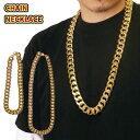 【2サイズ】ブリンブリン ネックレス 【シングルチェーン】ゴールド ヒップホップ ジュエリー メッキ BIG 80's 90's H…