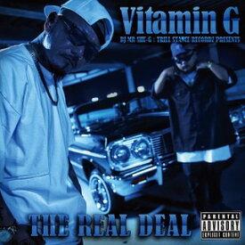 【再入荷!!!】ミックスCD MIX CD 【 Vitamin G Vol.4 / THE REAL DEAL 】 【DJ MR SHU-G】 ヒップホップ G-RAP G-FUNK WESTCOAST HIPHOP RAP 西海岸 ギャングスタラップ ウェッサイ ウエストコースト GANGSTA ADVISORY