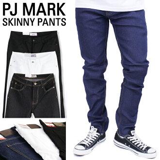 PJ MARK skinny denim basic skinny fit slim SKINNY FIT long pants PJ MARK jeans jeans US size mens large size L LL 2 l 3 l 4 l 5 l