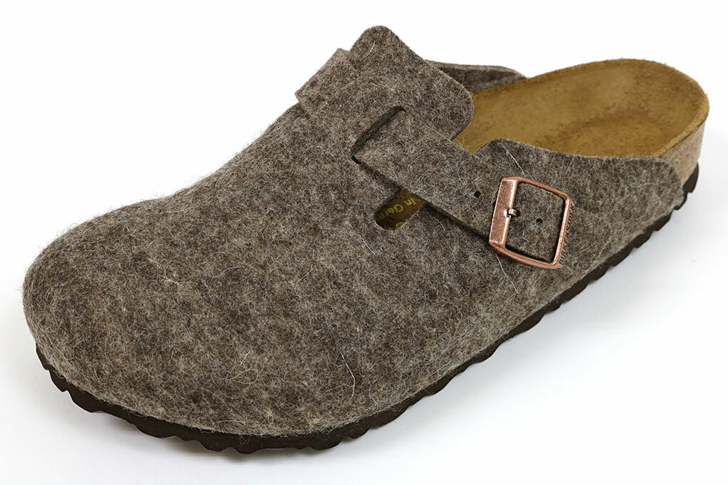 ビルケンシュトック ボストン ウールフェルト ココア (BIRKENSTOCK Boston Wool 0160581 Cocoa)