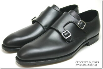 Crockett & Jones hand grade ダブルモンク Seymour black ( CROCKETT JONES SEYMOUR BLACK ) 10P28oct13