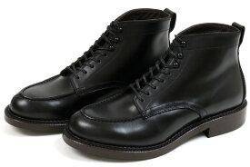 【ポイント10倍!】ラッドシューズ スプリットVチップブーツ ブラック (RUTT SHOES 8752 BLACK)
