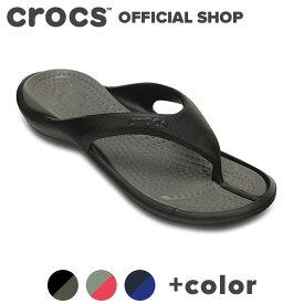 【クロックス公式】アテネ フリップ Athens Flip / crocs フリップ ビーチサンダル レディース メンズ アウトレット outlet 【PR2】