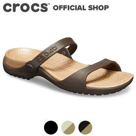 【クロックス公式】クレオ Cleo / crocs サンダル レディース アウトレット outlet ぺたんこ【PR1】