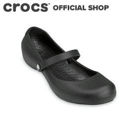 【クロックス公式】アリス ワーク Alice Work / crocs ワークシューズ パンプス フラットシューズ レディース 【NO】