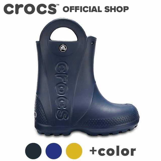 【クロックス公式】ハンドル イット レイン ブーツ キッズ / crocs キッズ アウトレット outlet 【PR1】