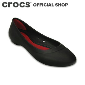 【クロックス公式】リナ フラット ウィメン Lina Flat / crocs パンプス フラットシューズ レディース 【PR1】