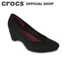 【クロックス公式】リナ ウェッジ ウィメン Lina Wedge / crocs パンプス レディース 【PR1】