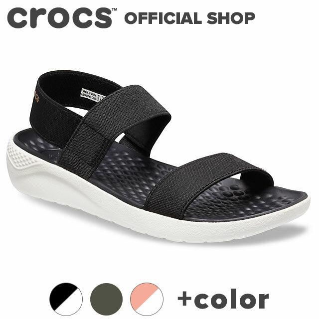 【クロックス公式】ライトライド サンダル ウィメン LiteRide Sandal / crocs レディース スポーツサンダル 新商品 【NO】