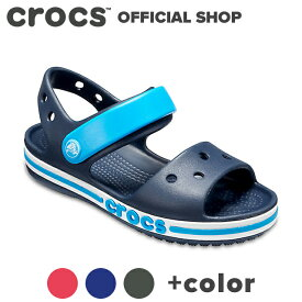 【クロックス公式】バヤバンド サンダル キッズ Bayaband Sandal Kids / crocs アウトレット outlet【PR1】