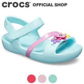 【クロックス公式】リナ チャーム サンダル キッズ Lina Charm Sandal Kids / crocs 【PR3】