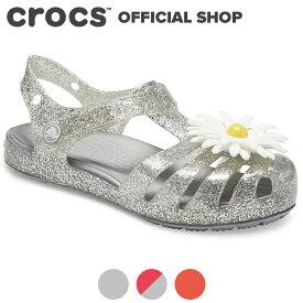 【クロックス公式】イザベラ チャーム サンダル キッズ Isabella Charm Sandal Kids / crocs 【PR3】