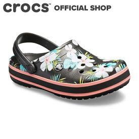 【クロックス公式】クロックバンド シーズナル グラフィック クロッグ Crocband Seasonal Graphic Clog / crocs レディース メンズ サンダル 定番 【OOL】