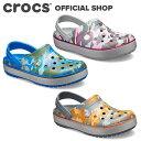【クロックス公式】クロックバンド プリンテッド クロッグ Crocband Printed Clog/ crocs レディース メンズ サンダル…